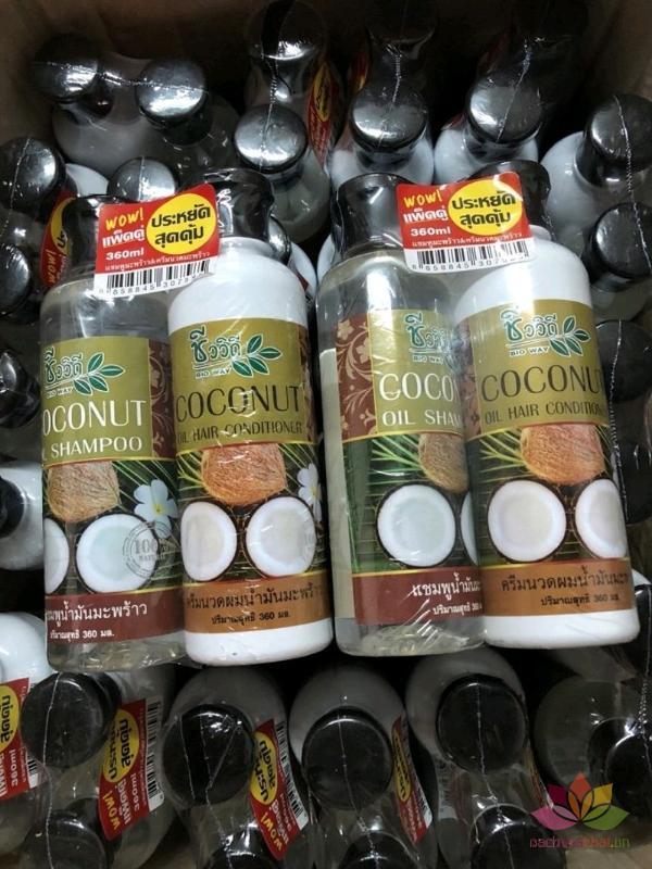 Bộ dầu gội xả Coconut kích mọc tóc ảnh 2