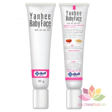 Kem trắng da mặt Yanhee Baby Face Cream ảnh 2