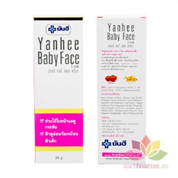 Kem trắng da mặt Yanhee Baby Face Cream ảnh 3