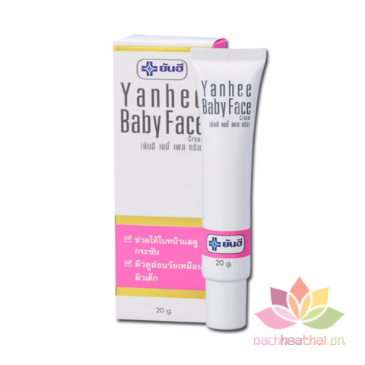 Kem trắng da mặt Yanhee Baby Face Cream ảnh 4