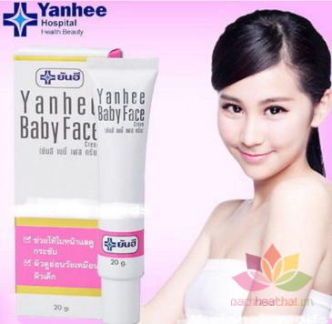 Kem trắng da mặt Yanhee Baby Face Cream ảnh 6