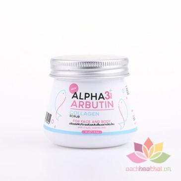 Tẩy tế bào chết Alpha Arbutin 3+ Plus Collagen Scrub ảnh 4