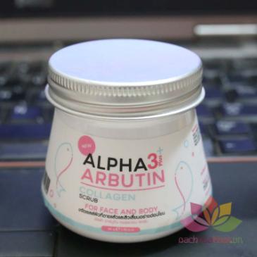 Tẩy tế bào chết Alpha Arbutin 3+ Plus Collagen Scrub ảnh 5