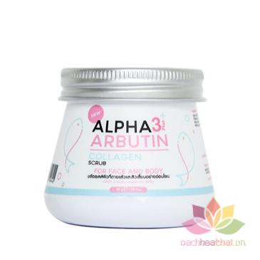 Tẩy tế bào chết Alpha Arbutin 3+ Plus Collagen Scrub ảnh 1