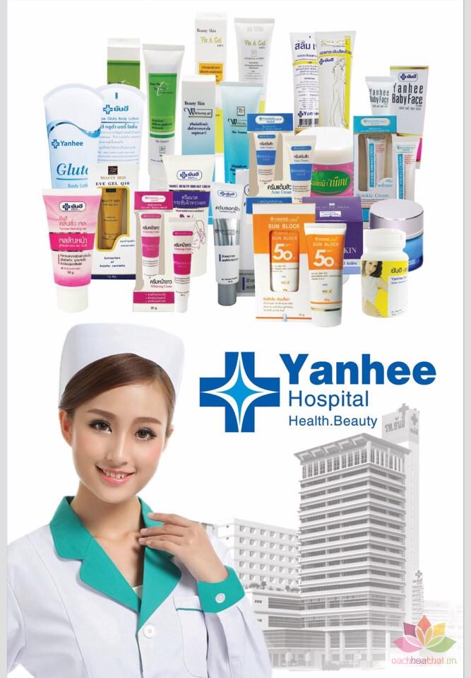 Bộ trị mụn tái tạo da Yanhee xanh