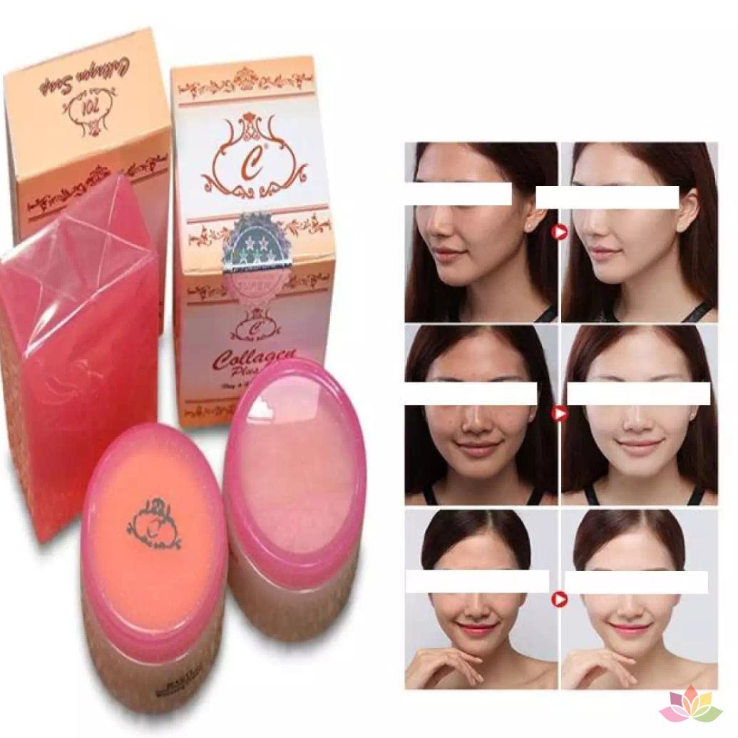 Kem Collagen Plus Vit E  – Malaysia –