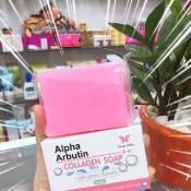 Ảnh sản phẩm Xà bông tắm trắng da Alpha Arbutin Collagen Soap 2