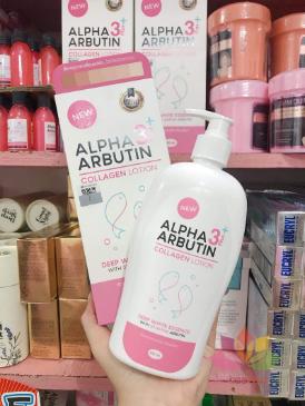 Sữa dưỡng thể Alpha Arbutin Collagen Lotion 3 Plus ảnh 3