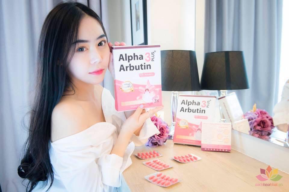 Bột Kích Trắng Alpha Arbutin 3 Plus