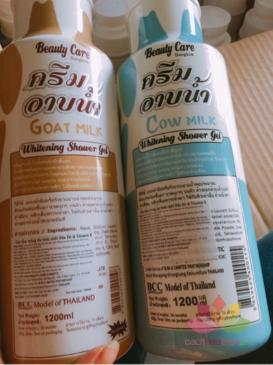 Sữa tắm làm trắng Beauty Care whitening Shower Gel ảnh 6