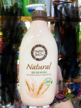 Sữa tắm Happy Bath Natural Body Wash Hàn Quốc ảnh 10