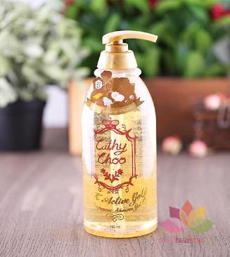 Sữa tắm Cathy Choo Vàng 24K Active Gold  ảnh 5
