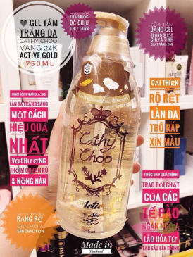Sữa tắm Cathy Choo Vàng 24K Active Gold  ảnh 11