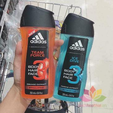 Tắm gội cho nam Adidas 3 in 1 ảnh 3