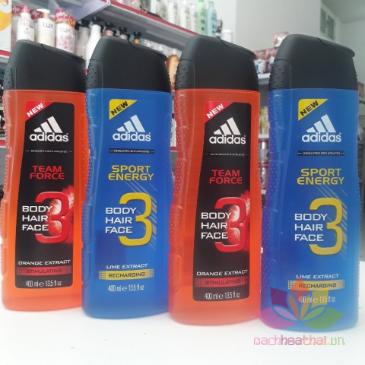 Tắm gội cho nam Adidas 3 in 1 ảnh 4