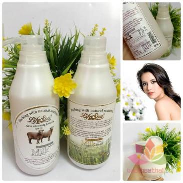 Sữa tắm trắng da hương nước hoa LifeSpa Milk ảnh 2