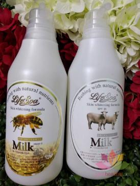 Sữa tắm trắng da hương nước hoa LifeSpa Milk ảnh 3