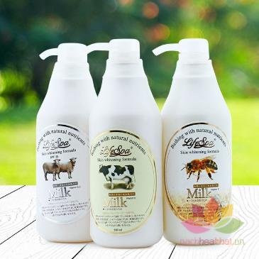 Sữa tắm trắng da hương nước hoa LifeSpa Milk ảnh 5