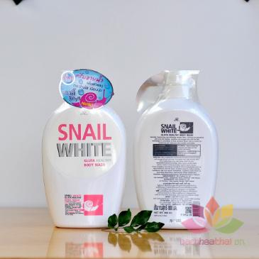 Sữa tắm Snail White Gluta Healthy ảnh 5