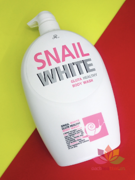 Sữa tắm Snail White Gluta Healthy ảnh 10