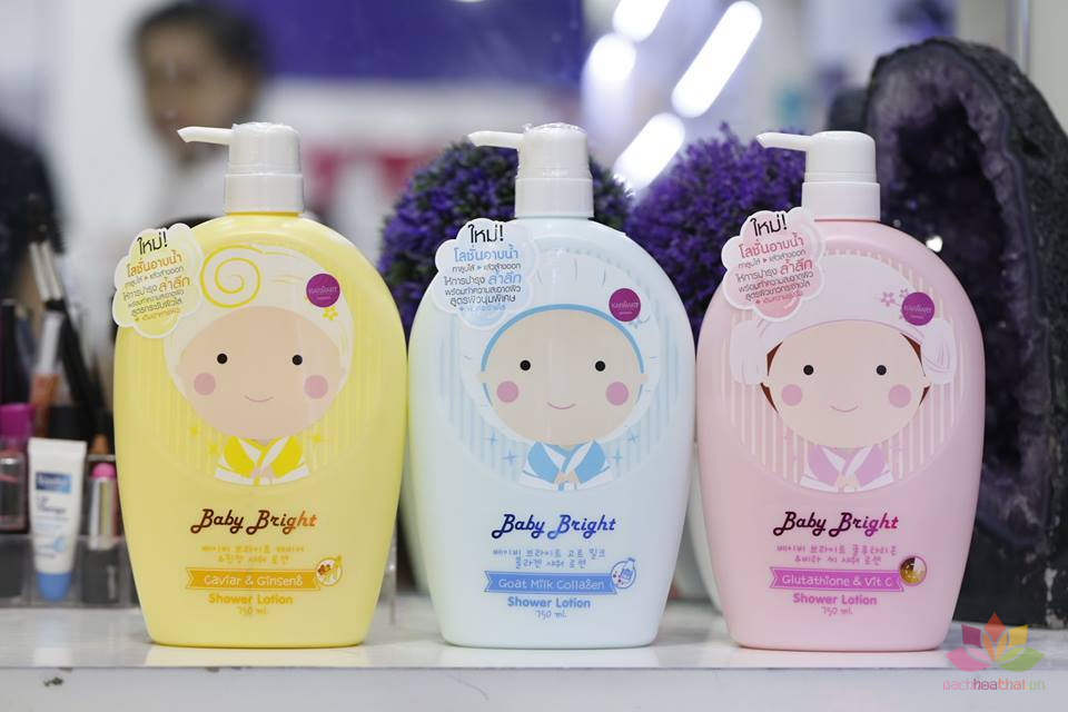 Dữa tắm  Baby Bright  Shower Lotion