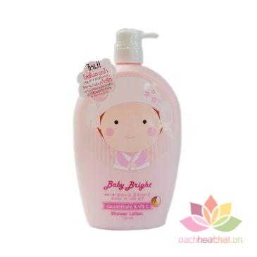 Dữa tắm  Baby Bright  Shower Lotion ảnh 3