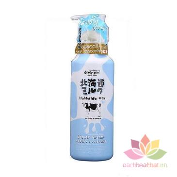 Sữa tắm Hokkaido Milk Whitening AHA ảnh 5