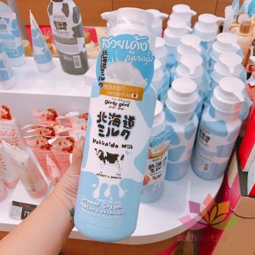 Sữa tắm Hokkaido Milk Whitening AHA ảnh 8