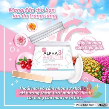 Tẩy tế bào chết Alpha Arbutin 3+ Plus Collagen Scrub ảnh 3