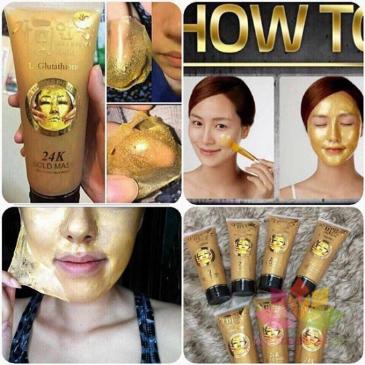 Mặt nạ vàng 24k Gold Mask L-Glutathione ảnh 2