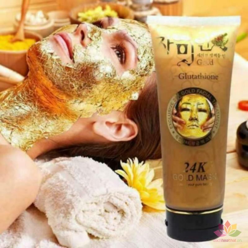 Mặt nạ vàng 24k Gold Mask L-Glutathione ảnh 3