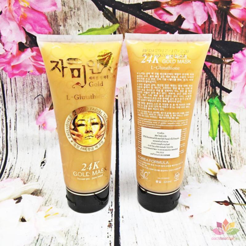 Mặt nạ vàng 24k Gold Mask L-Glutathione ảnh 4