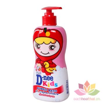 Tắm gội D-nee Kids Bubble Bath cho trẻ trên 3 tuổi ảnh 2
