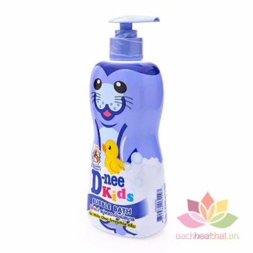 Tắm gội D-nee Kids Bubble Bath cho trẻ trên 3 tuổi ảnh 3