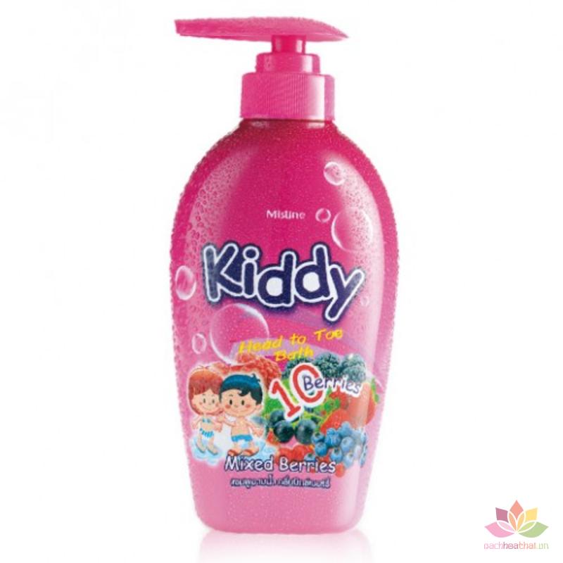 Tắm gội toàn thân dành Kiddy 400ml ảnh 2