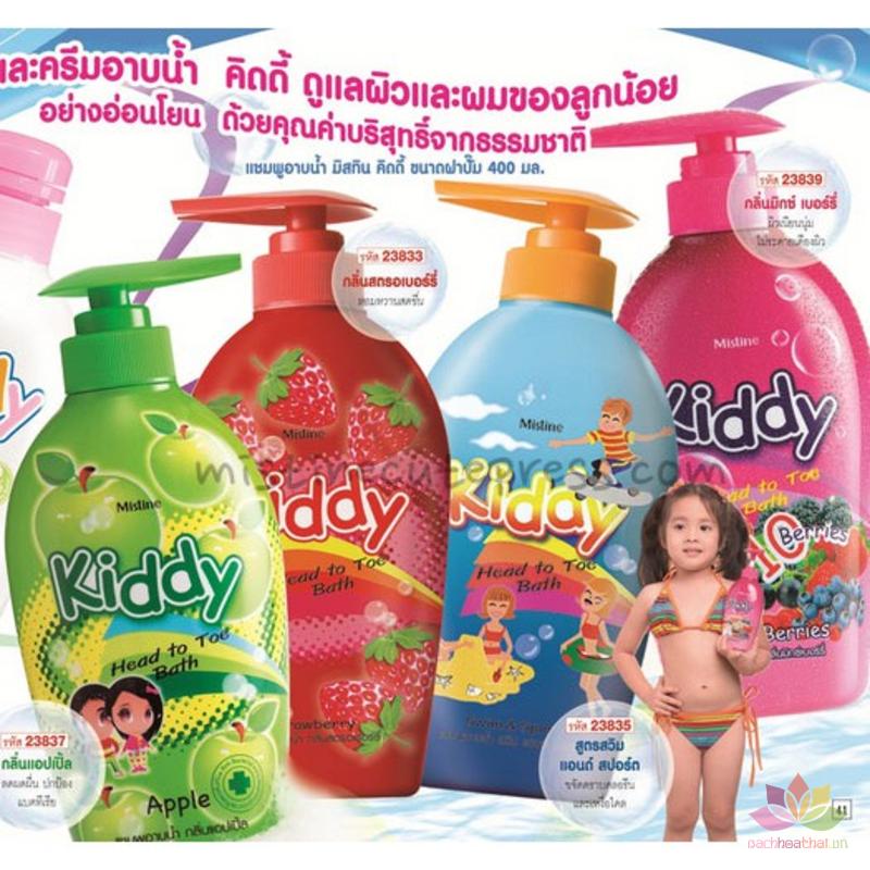 Tắm gội toàn thân dành Kiddy 400ml ảnh 4