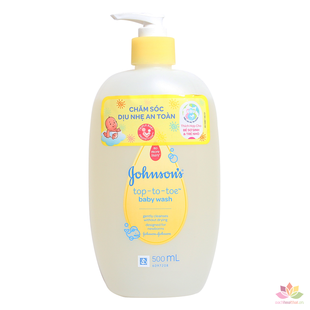 Tắm gội Johnson Baby Top-To-Toe Wash