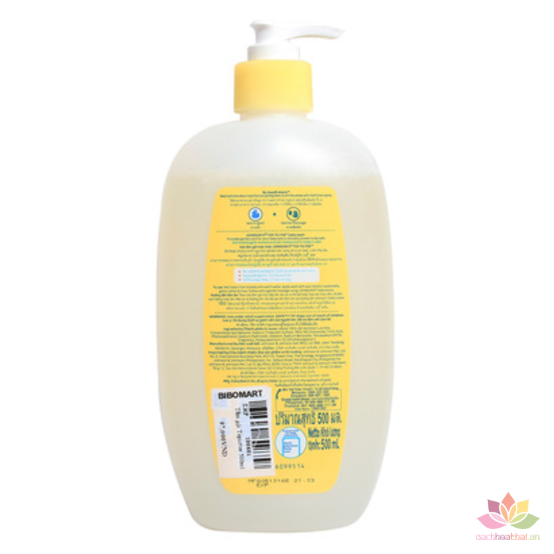 Tắm gội Johnson Baby Top-To-Toe Wash ảnh 3