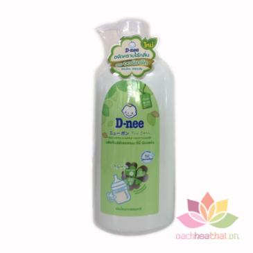 Nước rửa bình sữa Dnee Organic chai 620ml ảnh 1