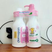 Ảnh sản phẩm Cặp tắm gội Demapon Organic 1