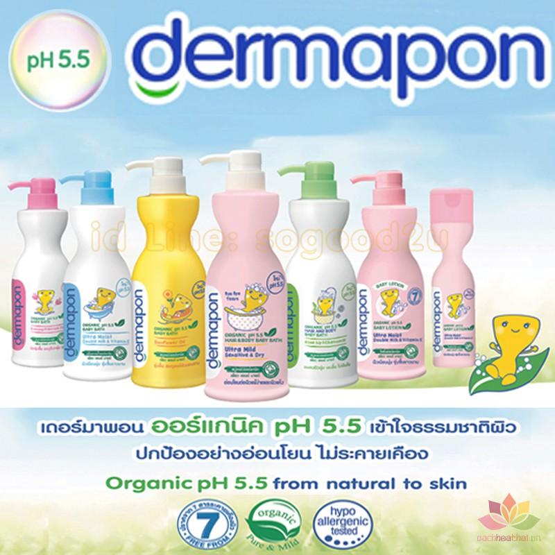 Cặp tắm gội Demapon Organic ảnh 2