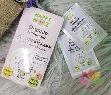 Miếng dán trị viêm mũi cho bé Organic Nose Freshener ảnh 8