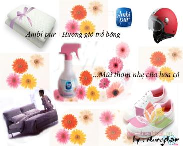 Nước khử mùi vải Ambi Pur ảnh 7