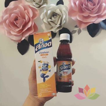 Siro SCOTT'S Emuls Vita Thái Lan Giúp Bé Ăn Ngon Và Mau Tăng Cân ảnh 5