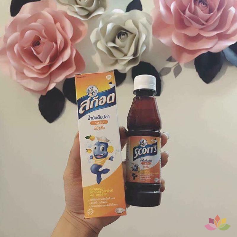 Siro SCOTT'S Thái Lan Giúp Bé Ăn Ngon Và Mau Tăng Cân ảnh 5