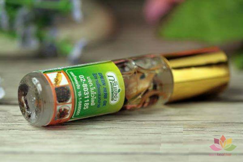 Dầu lăn sâm Green Herb Oil  ảnh 4