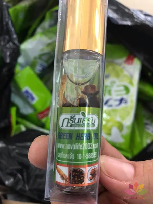Dầu lăn sâm Green Herb Oil  ảnh 7