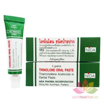 Kem trị nhiệt miệng Trinolone Oral Paste ảnh 6