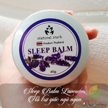 Dầu sáp hỗ trợ giấc ngủ Sleep Balm ảnh 7