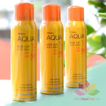 Kem chống nắng dạng xit Aqua ảnh 4